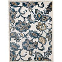 Rug And Decor - Madison Traditional Cream Area Rug - 5' x 7'