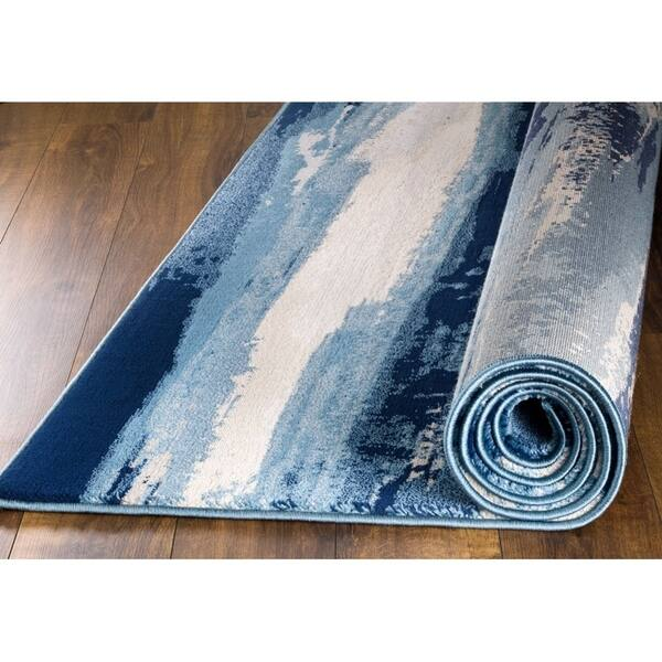MADISON COLLECTION 408 Modern Abstract Area Rug avail 5x7 8x11 more