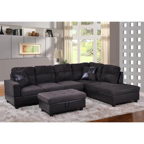 Buy Brown, Fabric Sectional Sofas Online at Overstock | Our Best ...