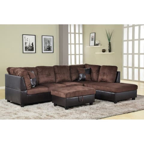 Buy Brown Sectional Sofas Online at Overstock | Our Best Living Room ...
