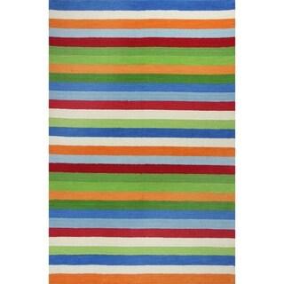 KAS Kidding Around Cool Stripes Rug