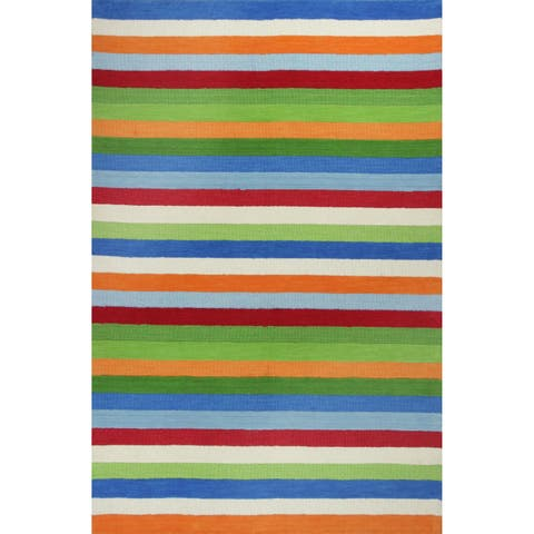 KAS Kidding Around Cool Stripes Rug