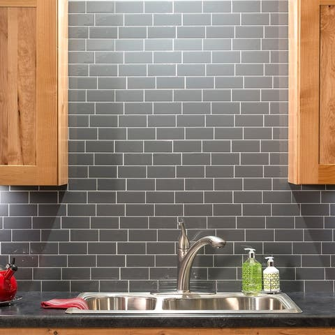 Tack Tile Peel & Stick Vinyl Backsplash (pack of 3)