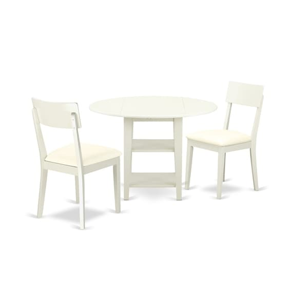 Shop Suad3 Lwh Lc 3pcset 1 Table Amp 2 Chairs In A Linen