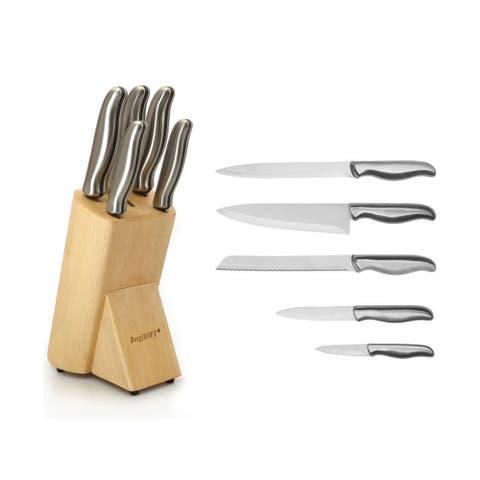 Essentials SS 6 Pc Knife Block