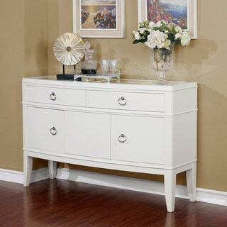 Furniture of America Olympia Antique White Dining Server