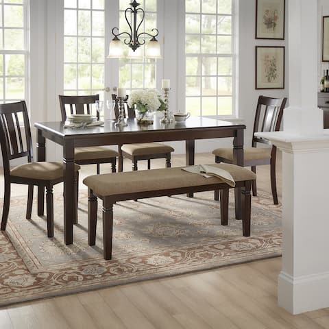 Lynn Espresso Finish Dining Set by iNSPIRE Q Classic