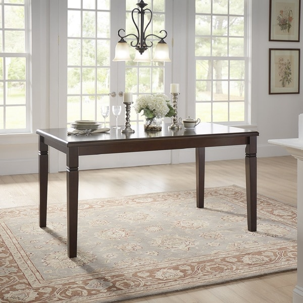 Lynn Espresso Finish Dining Table by iNSPIRE Q Classic. Opens flyout.