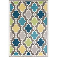 KAS Skyline Grey Hampton Rug - 7'10 x 10'10