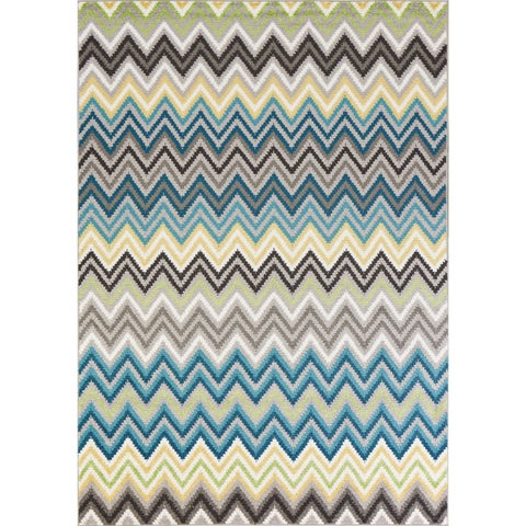 Carson Carrington Gotland Grey/ Blue Porter Area Rug