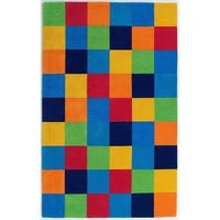 KAS Kidding Around Color Blocks Rug - 7'6 x 9'6