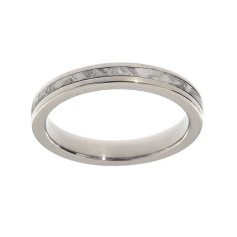 Buy Titanium Women's Wedding Bands Online at Overstock | Our Best
