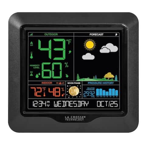 La Crosse Technology S84107-INT Wireless Color Forecast Station