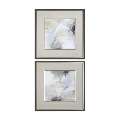 Uttermost Abstract Vistas Framed Prints (Set of 2) - Multi-color