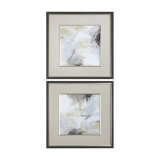 Link to Uttermost Abstract Vistas Framed Prints (Set of 2) - Multi-color Similar Items in Art Prints