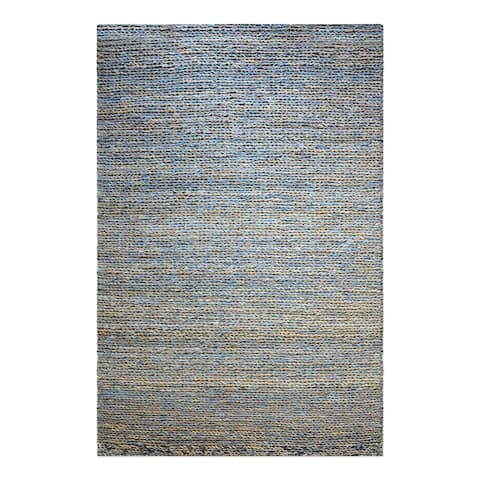 Uttermost Euston Natural Blue 5' x 8' Rug - 5' x 8'