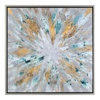 Uttermost Exploding Star Modern Abstract Art - Multi-color