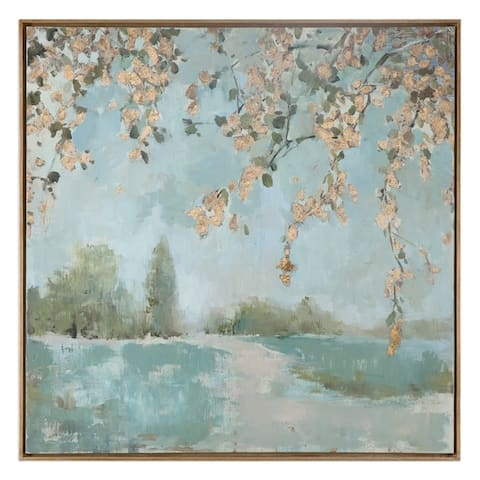 Uttermost Peaceful Landscape Art - Blue