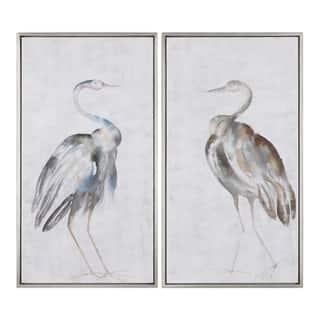 Uttermost Summer Birds Framed Art (Set of 2) - Multi-color