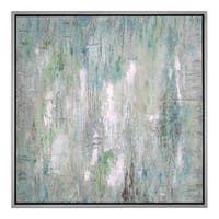 Uttermost Flowing Along Abstract Art - Multi-color