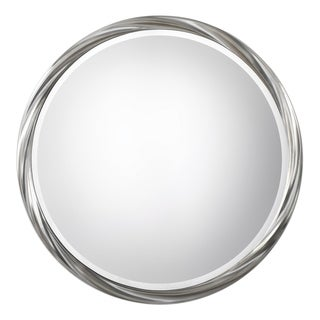 Uttermost Orion Metallic Silver Leaf Mirror
