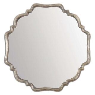Uttermost Valentia Oxidized Silver Mirror