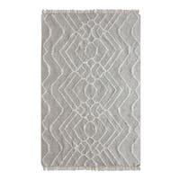 Uttermost Blasa Grey and Ivory Rug