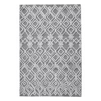 Uttermost Sieano Grey and Ivory Rug