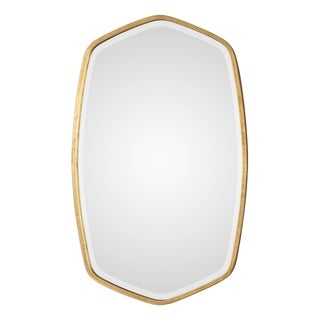 Uttermost Duronia Antiqued Gold Leaf Mirror