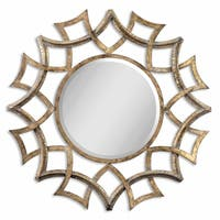 Uttermost Demarco Antique Gold Mirror