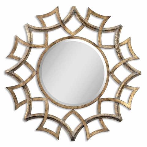 Uttermost Demarco Antique Gold Mirror