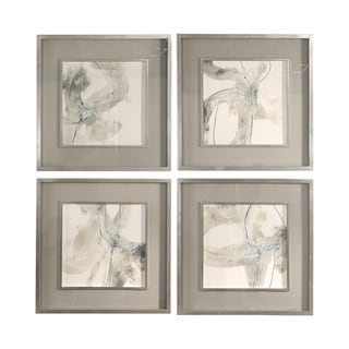 Link to Uttermost Divination Abstract Art (Set of 4) - Grey Similar Items in Art Prints