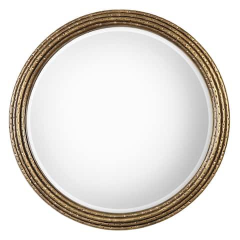 Uttermost Spera Antiqued Gold Mirror