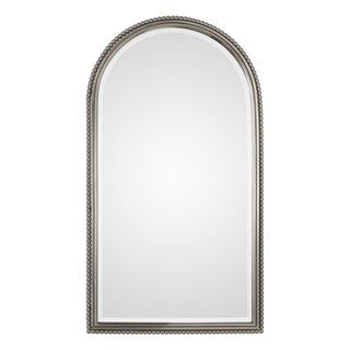 Uttermost Sherise Arch Plated Brushed Nickel Mirror