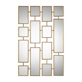 Uttermost Kennon Antiqued Gold Leaf Mirror
