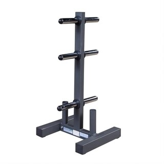 Body Solid WT46 Olympic Plate Tree & Bar Holder