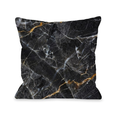 Allegra Agate - Black Pillow by OBC