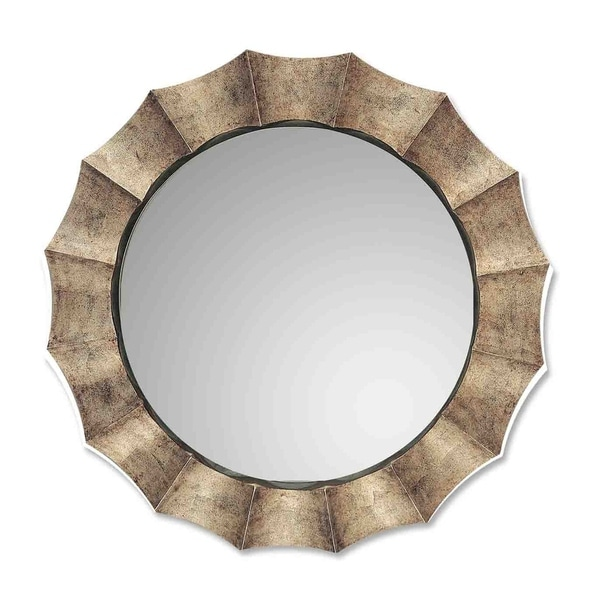 Uttermost Gotham Antique Silver Leaf Mirror - Champagne