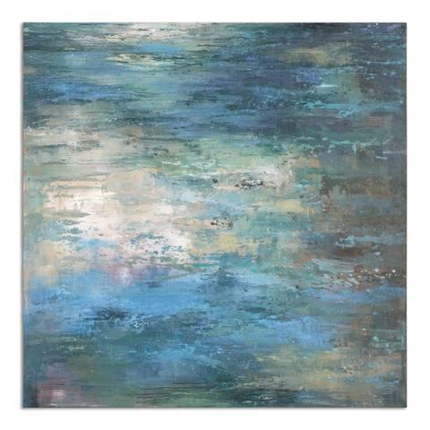 Uttermost Splish Splash Modern Art - Multi-color - 40 x 40