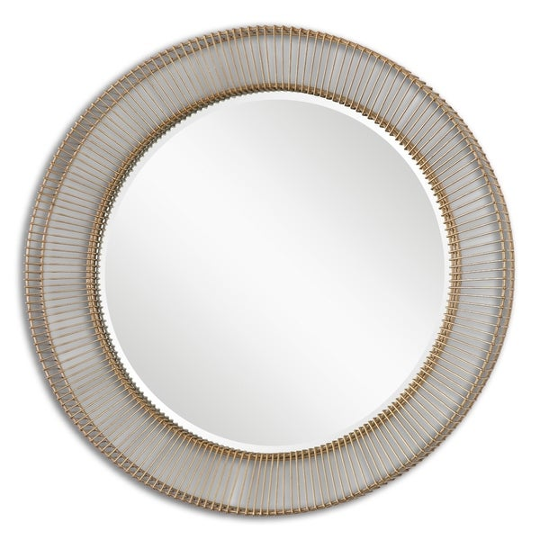 8759d80bae6 Shop Uttermost Bricius Rust Bronze Mirror - Free Shipping Today -  Overstock.com - 21933993
