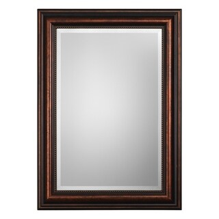 Uttermost Stuart Rubbed Bronze Mirror