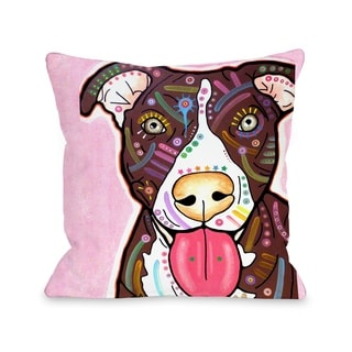 Bliss  Pillow by Dean Russo - White