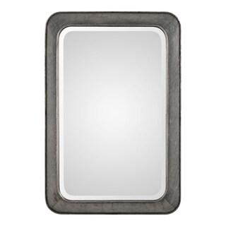Uttermost Jarno Raw Silver Mirror - 20.125x30.25x3.125
