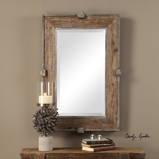 Uttermost Siringo Natural Mirror - 25.25x37.25x2.6