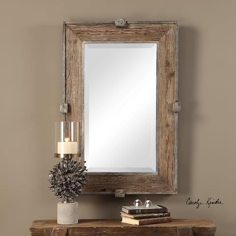 Uttermost Siringo Natural Mirror - 25.25x37.25x2.6