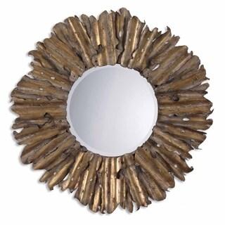 Uttermost Hemani Antique Gold Leaf Mirror