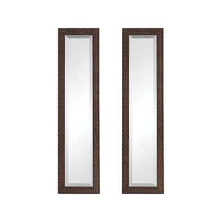 Uttermost Ailani Burnished Brown Mirror (Set of 2)