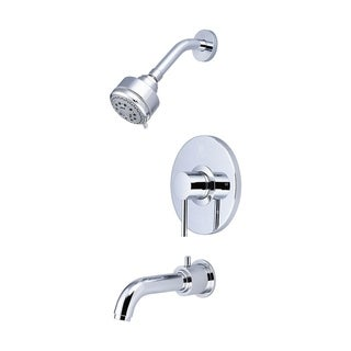 Single Handle Tub and Shower Trim Set-4MT110T