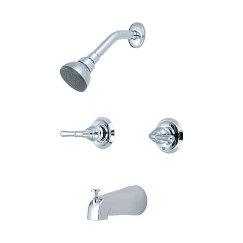 Two Handle Tub/Shower Set-P-1230