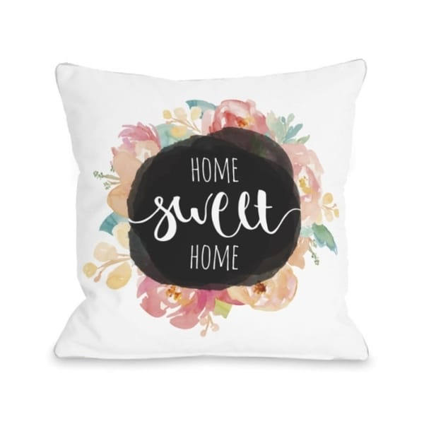 Home Sweet Home Wildflower - Multi Pillow by OBC